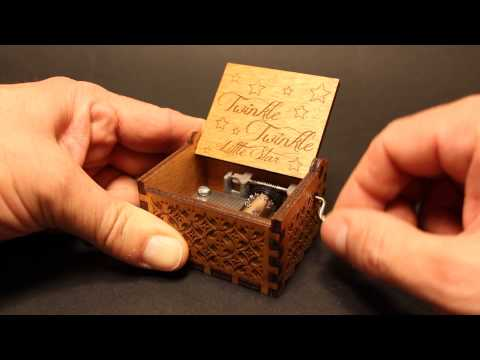 Twinkle, Twinkle Little Star - Music box by Invenio Crafts