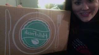 Hello Fresh W2 Unboxing, W1 Review, And Savings!