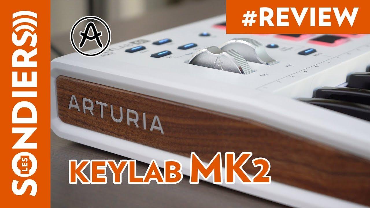 Download ARTURIA KEYLAB 61 MK2 : Le clavier maître contrôleur MIDI à la française