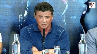 The Expendables 3 Premiere Interviews - Sylvester Stallone, Wesley Snipes, Antonio Banderas