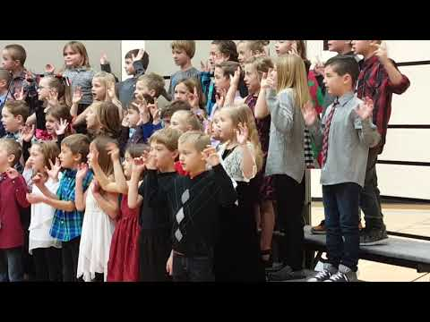 Montana City School Children's choir