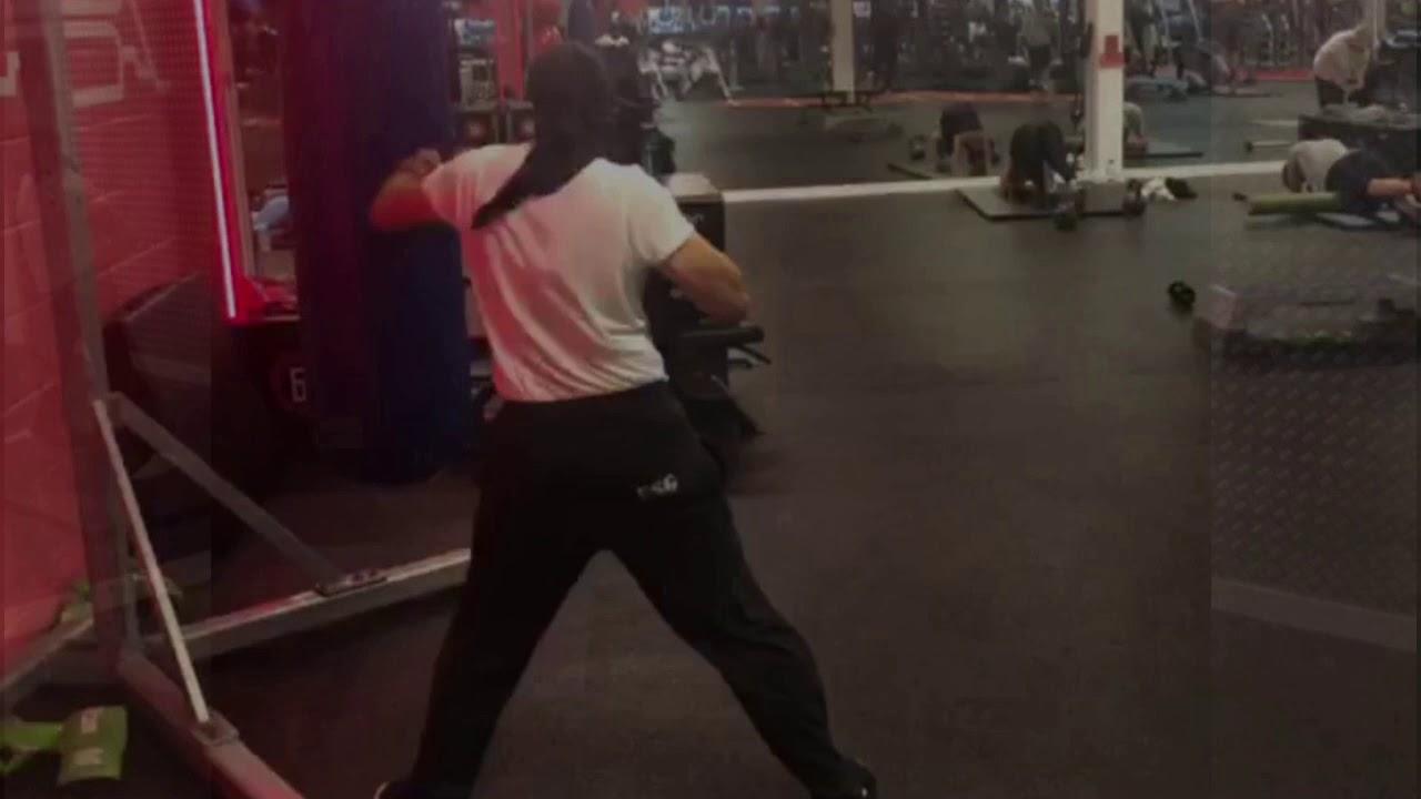 Boxing, Martial Arts Bag workout