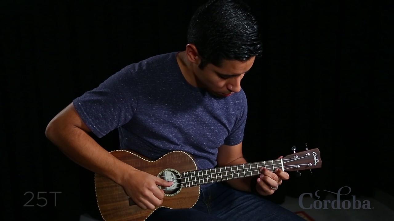 Cordoba 25 series ukulele comparison by carlos gallardo - Carlos cordoba ...