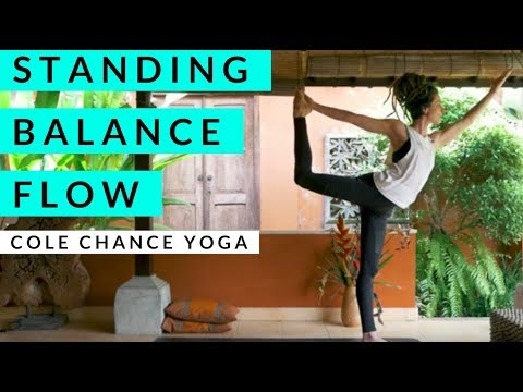 Standing Balance Yoga with Cole Chance