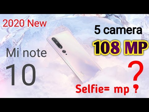 Mi Note 10 Price ?। Redmi Note 10  2020 In India। Mi Note 10 Highlighting Features In India