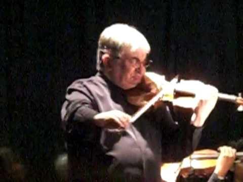 Maurice Hasson interpreta el violinconcierto de Tchaikovsky (Canzonetta-Andante)