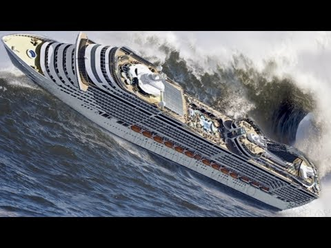 TOP 10 SHIPS in STORM! Incredible Monster Waves! A Video You