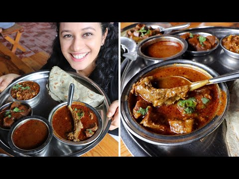 Most LOVED Mutton Thali Of Nashik | Divtya Budhlya Wada | Nashik Food Vlog