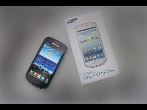 Обзор Samsung Galaxy S3 Mini