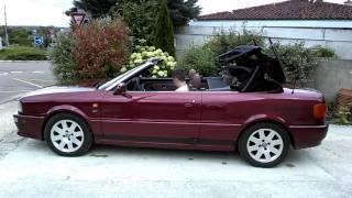 Ouverture capote audi 80 V6 S2