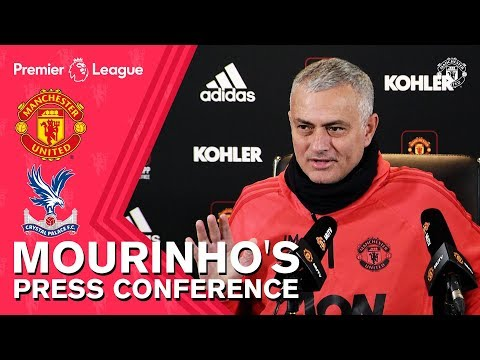 Jose Mourinho's Press Conference | Manchester United v Crystal Palace