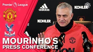 Jose Mourinho's Press Conference | Manchester United v Crystal Palace