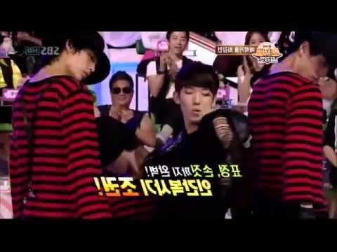 T-ara Jiyeon vs. 2AM Jokwon - Michael Jackson dance @ SBS Star Couple