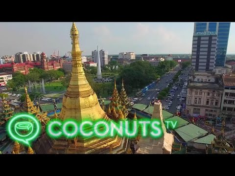 5 Amazing Outdoor Attractions in Yangon, Myanmar | Drone Video | Coconuts TV