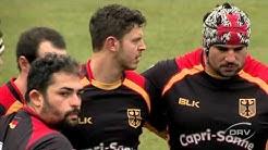 Rugby-EM: Deutschland vs. Spanien (1. Halbzeit)