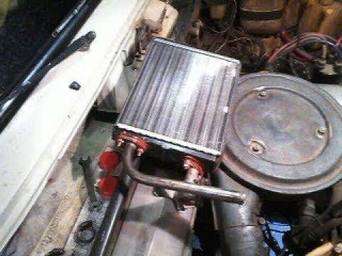 Как легко и быстро заменить радиатор отопителя ( печку ) на ВАЗ классика 2105.