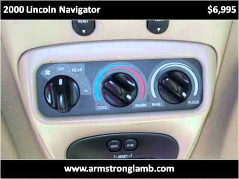 Used Cars Dothan Al >> 2000 Lincoln Navigator Used Cars Dothan Al