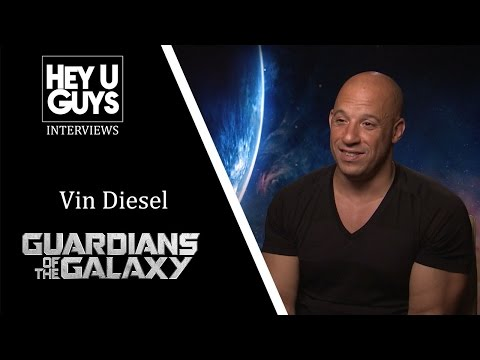 Vin Diesel Interview - Guardians of the Galaxy