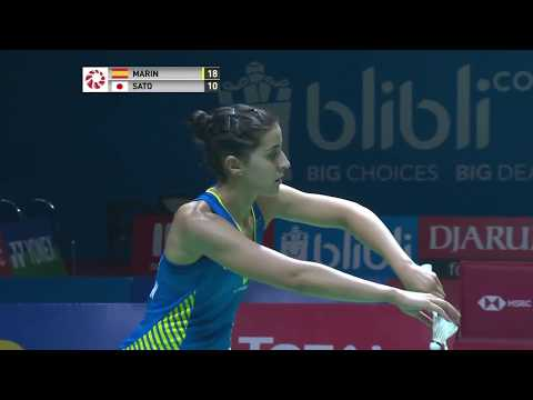Marin Leaving Indonesia Open