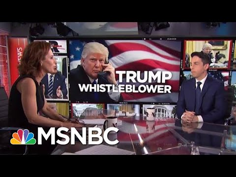 President Donald Trump Phone Call At Center Of Whistleblower Complaint | Velshi & Ruhle | MSNBC