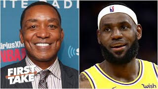 Isiah Thomas on the impact of the layoff on the Lakers' momentum and chemistry | First Take