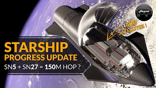 SpaceX Starship news as SN5 heads towards 150m flight, OneWeb, RocketLab & Starliner updates