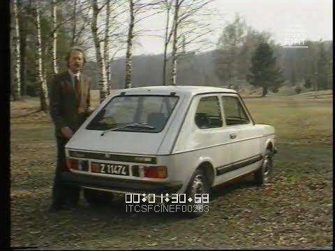 Giancarlo Baghetti prova per voi le Nuove FIAT 127 - Super, Special e Sport \ 1981 \ ita VV^