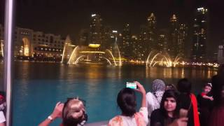 Burj Khalifa Dubai Dancing Fountain  Enrique Iglesias  2016 4K