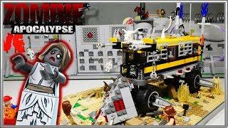 """LEGO Самоделка - Зомби Апокалипсис """"Автобус выживших"""" / LEGO Zombie Apocalipsis MOC"""