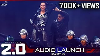 2.0 Audio Launch - Part 6 | Rajinikanth, Akshay Kumar | Shankar | A.r. Rahman