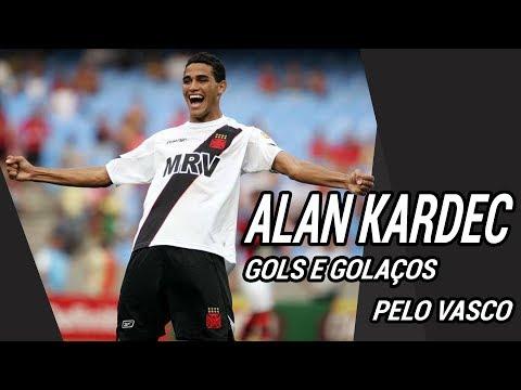 Gols e Golaços de Alan Kardec pelo Vasco