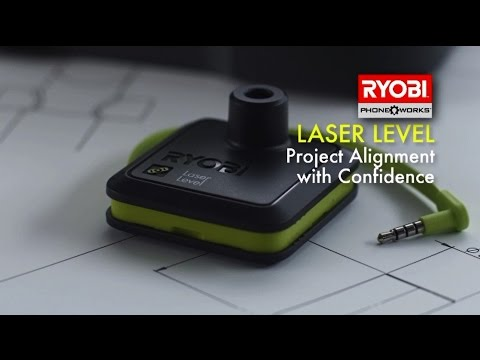 Ryobi Phone Works 2 Line Croix Niveau Laser RPW-1600