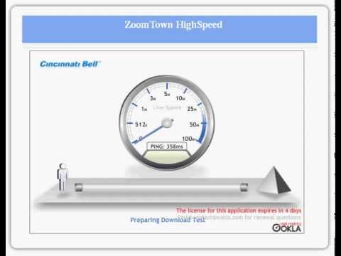 "Zoomtown, Horrible ""High Speed"" internet."