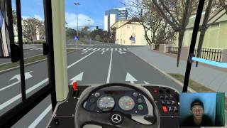 Motorista porra louca no OMSI - Linha 59 no Projekt  Szczecin (facecam)