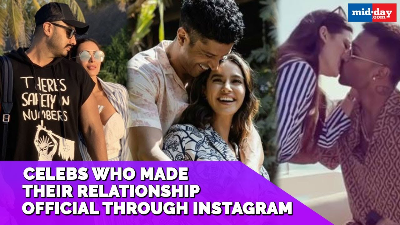 Malaika-Arjun to Sushant-Rhea: Bollywood celebs who made their relationship official on Instagram