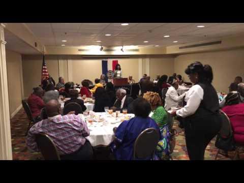 Missouri State Representative Cora Faith Walker addressing IBPOEW Civil Liberties Annual Summit