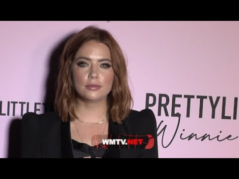 Ashley Benson arrives at PrettyLittleThing Winnie Harlow Edit Launch Party