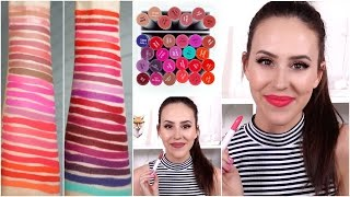 ColourPop Lippie Stix Lip Swatches || Beauty with Emily Fox