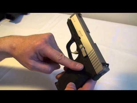 Safety Check & Disarming a Semi-Auto Pistol (Kahr CW9, Glock, KelTec etc.)