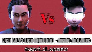Ejen Ali vs Uno AMV - Awake And Alive
