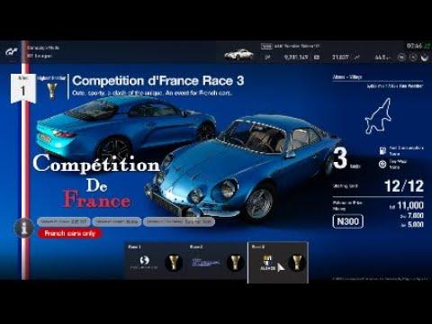 Gran Turismo Sport | GT League Beginner Competition De'France Race