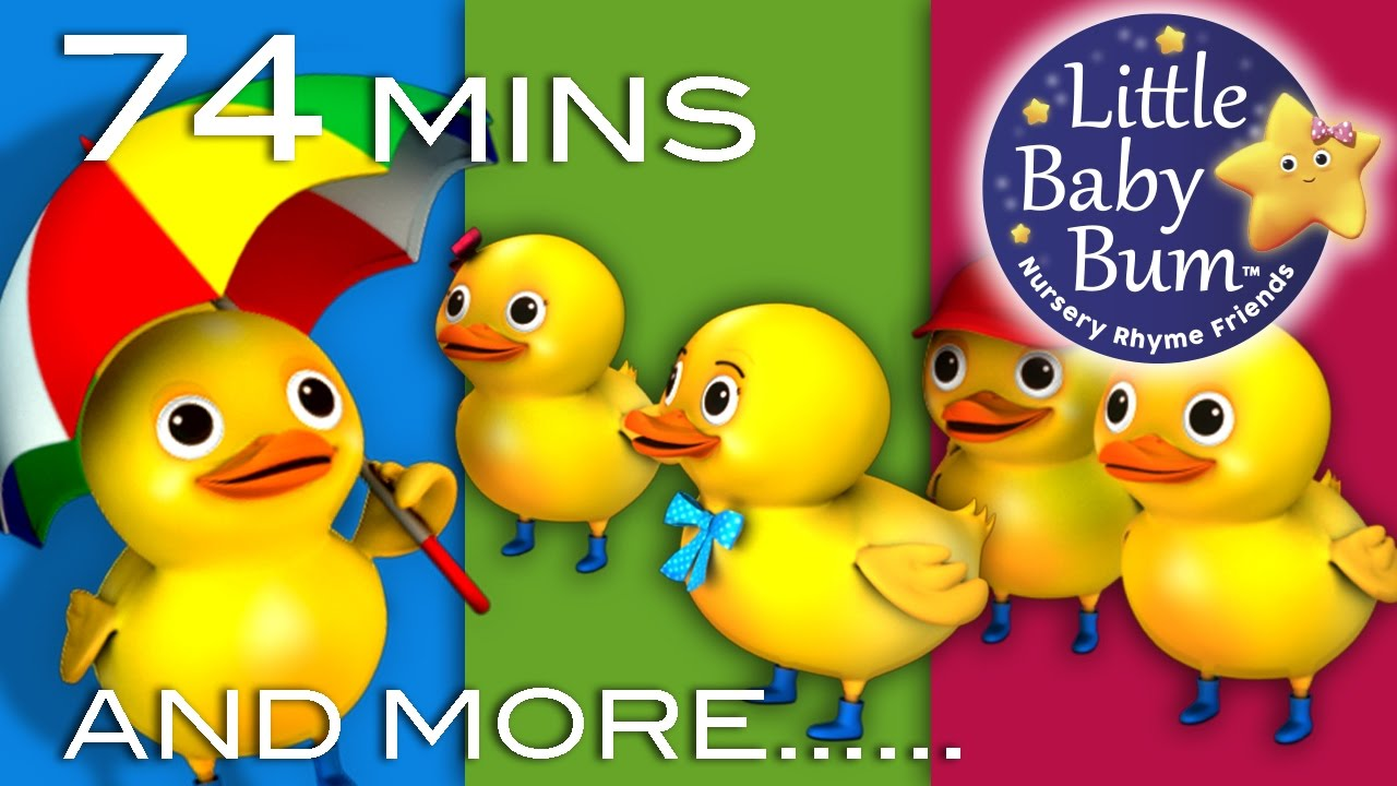 Five Little Ducks Little Baby Bum Nursery Rhymes For