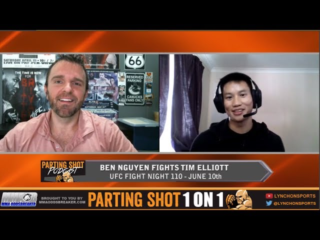 """UFC Fight Night 110's Ben Nguyen """"Tim Elliott isn't going to stand with me for long"""""""