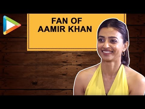 "Radhika Apte: ""Aamir Khan is somebody who takes CRITICISM very well"""