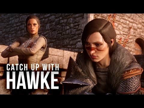 Catching Up with Hawke: Anders Romance, Carver, Kirkwall (SPOILERS)