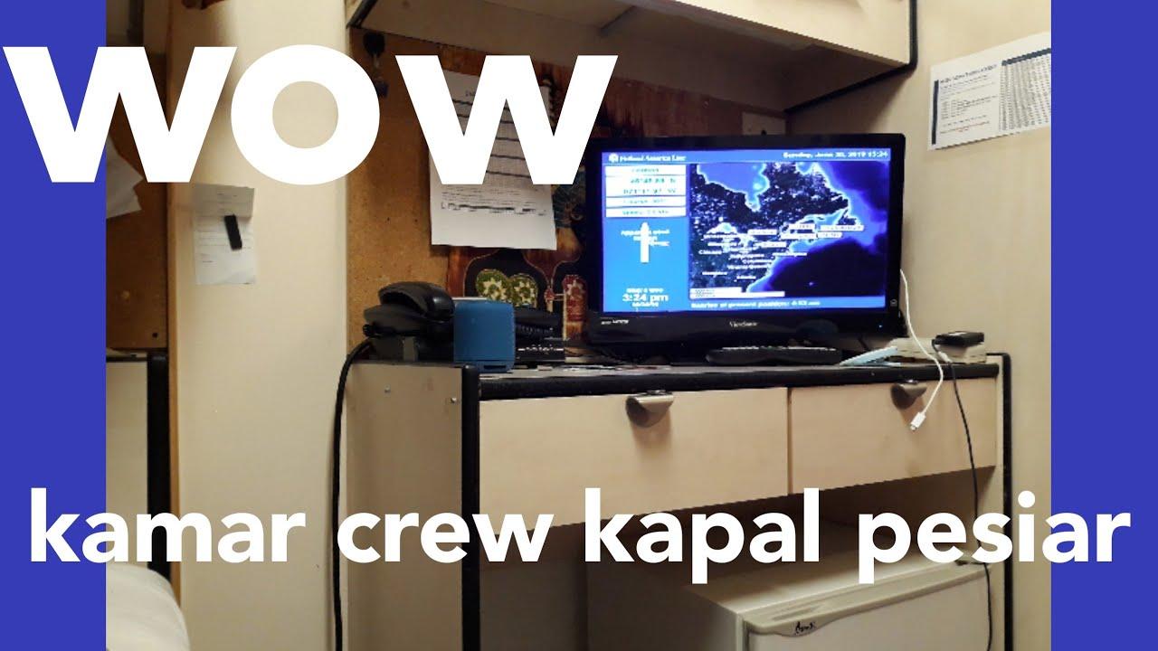REVIEW crew Cabin di kapal pesiar