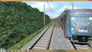 openBVE 동해선  기상역 통과열차