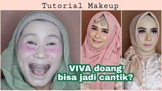 Tutorial Makeup Pesta pakai produk Viva Rindynellakrisna