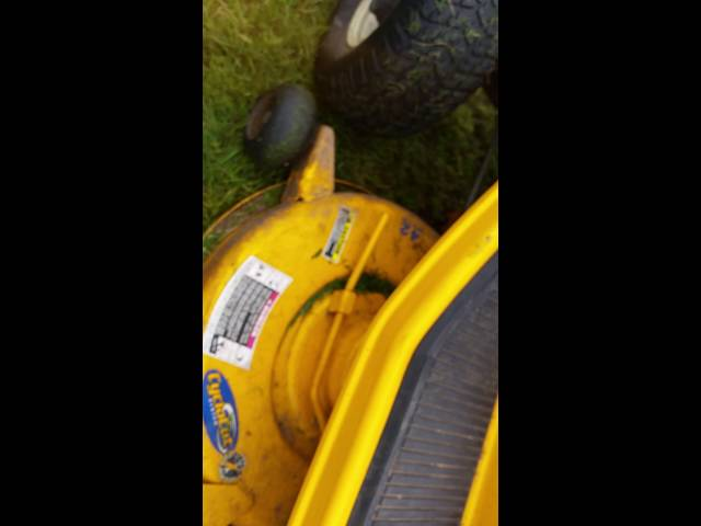 snow blowing with cub cadet lt2180