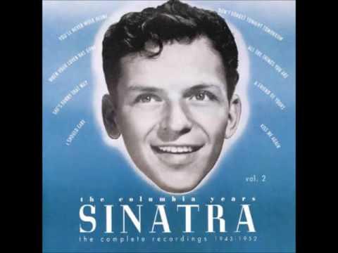 "Frank Sinatra  ""Embraceable You"" 1944"